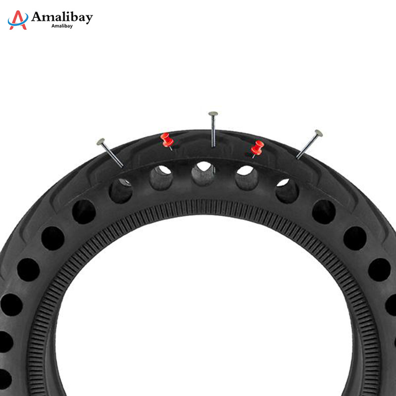 Xiaomi Pro M365 Electric Scooter Skateboard Wheel Tires Tyre Solid Hole Tires Shock Absorbed Non Pneumatic Tyre Damping Rubber in Scooter Parts Accessories from Sports Entertainment