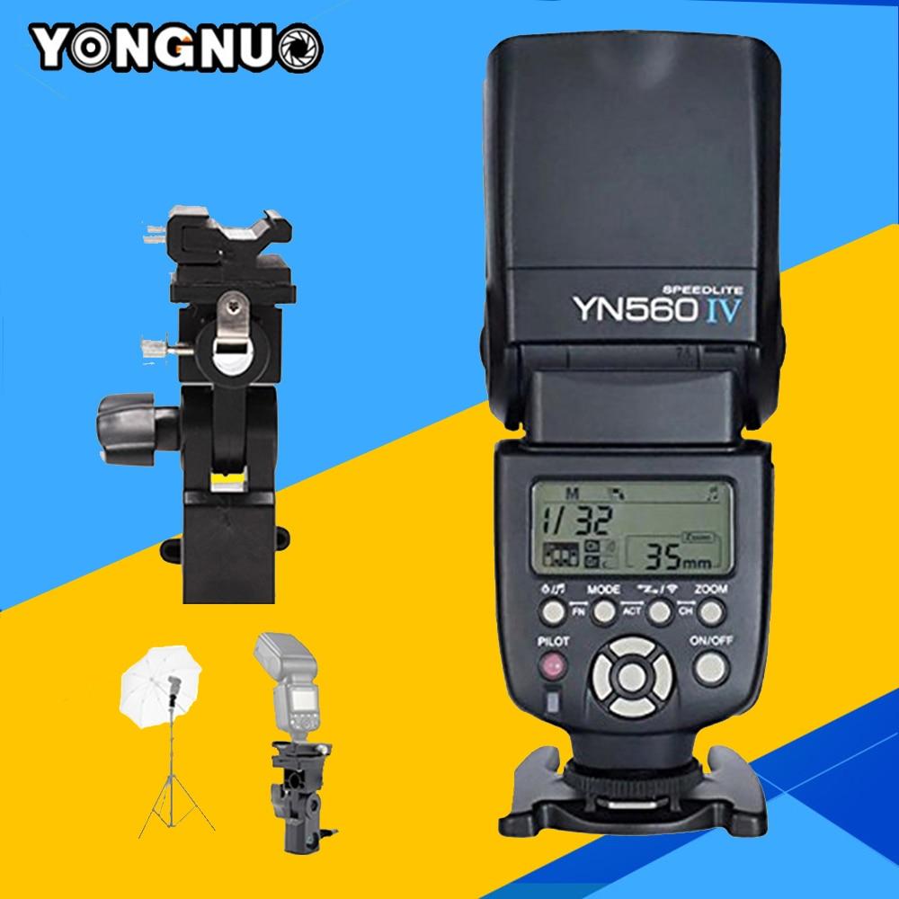 Yongnuo YN560IV Speedlite Flash YN560-IV Speedlight For Canon Nikon Pentax Sony A99 A58 A6000 A3000 A7s A7 NEX-6 A6300  YN560 IV 3pcs yongnuo yn560 iv flash speedlite speedlight for canon nikon pentax olympus panasonic wireless support rf602 rf603 rf605