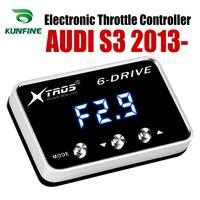 Otomobiller ve Motosikletler'ten Araba Elektronik Gaz Kelebeği Kontrol Ünitesi'de Araba elektronik gaz kontrol hızlandırıcı güçlü vw için AUDI S3 2013 2019 tuning parçaları aksesuar