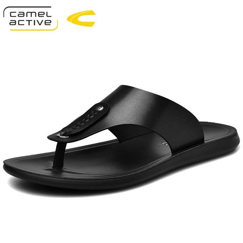 Camel Active 2019 Neue Sommer Männer Flip-flops Hohe Qualität Strand Sandalen Nicht-rutsche Männlichen Hausschuhe Zapatos Hombre Casual Schuhe
