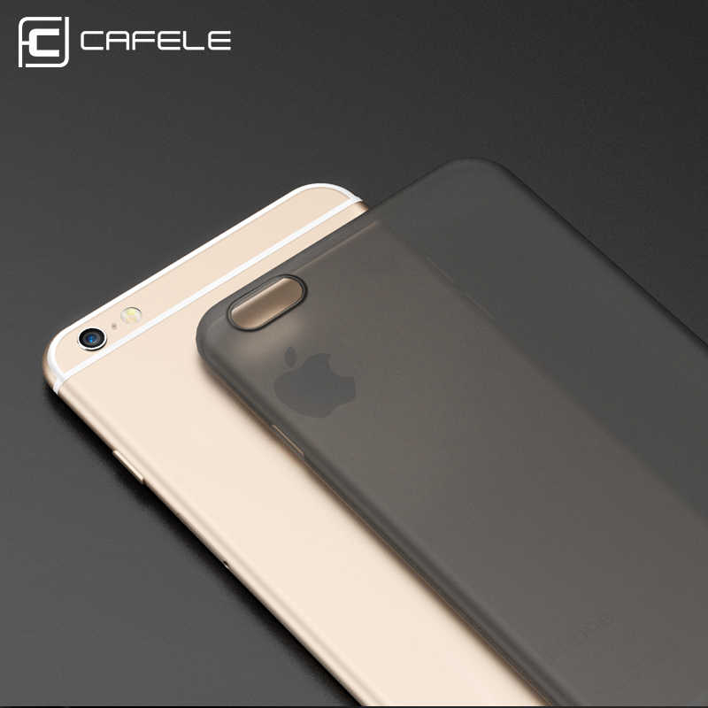 Cafele Phone Cases for iPhone 6 6 Plus Xs XR Xs MAX Matte PP Silicon Case 470db5617fa
