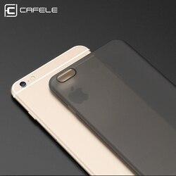 Cafele pour iPhone 6 6plus Xs XR Xs MAX Mat PP Étui En Silicone Mode Étui Rigide pour iPhone Xs XR Xs Max