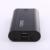 Ni5l tomo m3 caso del cargador de batería de salida 2a max diy pantalla de alta capacidad banco de la energía para el teléfono móvil tableta mostrar la actual