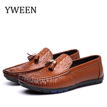 YWEEN Men Casual Shoes Fashion Men Shoes Leather Man Loafers Moccasins Slip On Male Flats Comfortable Driving shoes Men winter men loafers new fashion men casual warm shoes comfortable men fur flats driving moccasins quality men loafers cotton