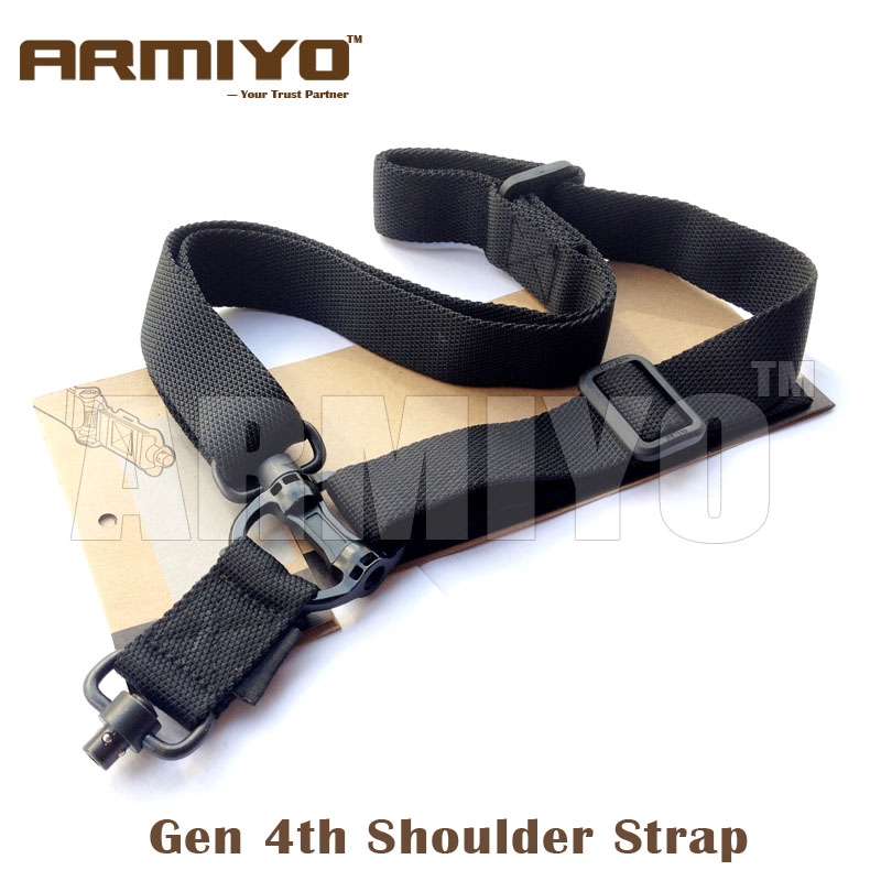 Armiyo 4th Gen Tactical Sling Rifle Shoulder Strap Airsoft Harnesses 1.25