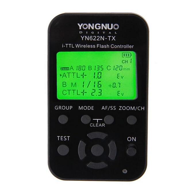 Hot YONGNUO YN622N-TX Transmitter Controller + YN-622N-RX Transceiver YN622N-Kit Wireless TTL HSS 1/8000 Flash Trigger for Nikon 2pcs yongnuo yn622n ii yn622n tx i ttl wireless flash trigger transceiver for nikon camera for yongnuo yn565 yn568 yn685 flash