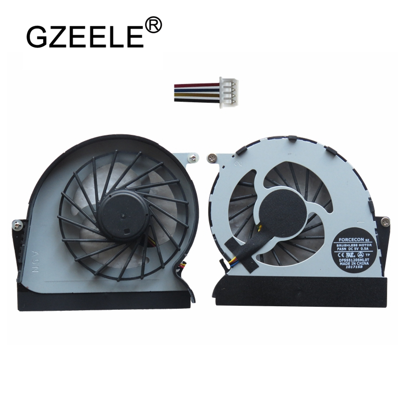 GZEELE Laptop cpu cooling fan for lenovo for Ideapad Y460 Y460A Y460N Y460C Y460P Notebook Cooler Radiator Cooling 4 Lines radiator cooling fan relay control module for audi a6 c6 s6 4f0959501g 4f0959501c