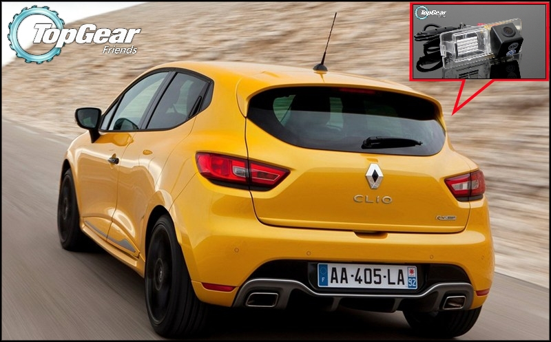 Car Camera For Renault Clio III / IV 3 4 / Lutecia High Quality Rear View Back Up Camera TopGear Friends Use  CCD + RCA