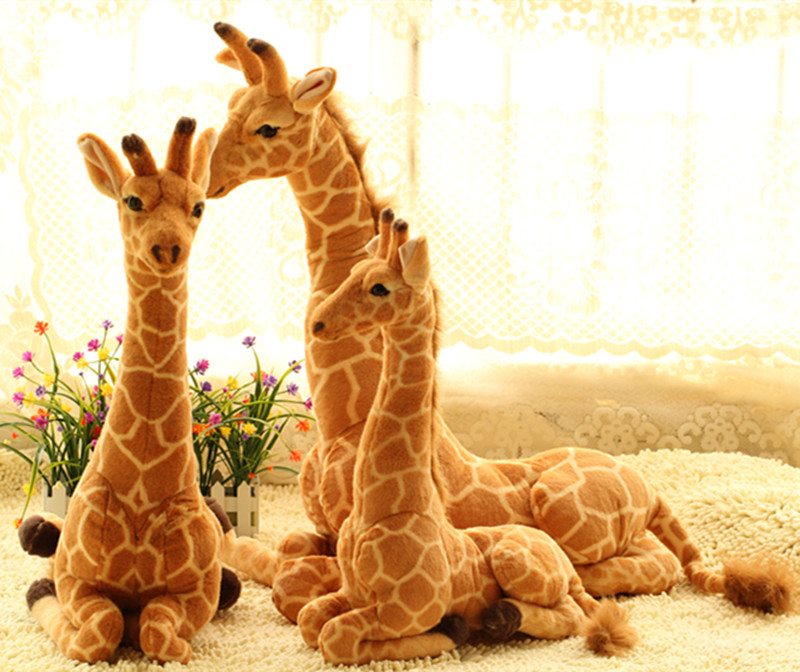 lovely sitting plush simulation giraffe toy big new creative giraffe doll birthday gift about 85cm детские кроватки forest lovely giraffe качалка