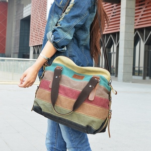 Image 5 - Canvas Women Messenger Bags High Quality Womens Shoulder Bags Handbags Female Famous Brands Crossbody Bag Bolsos Mujer