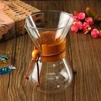 400ml/3 Cups Classic Glass Coffee Maker Coffee Pot Espresso Coffee Ice Cold Drip Percolators Dripper Home Coffee Tool