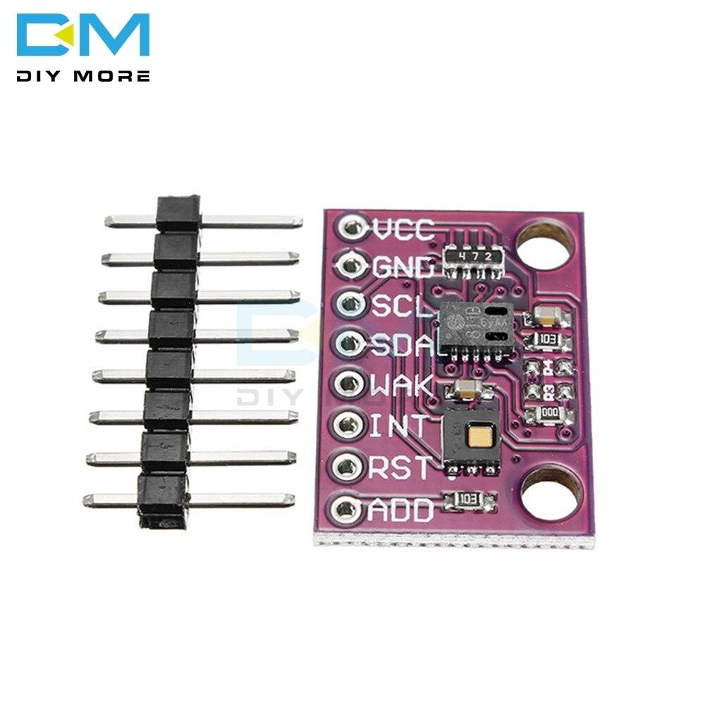 CCS811 HDC1080 Kohlendioxid CO2 Temperatur Und Feuchtigkeit Sensor VOCs Air qualität Monitor Sensor Modul Wickler Diy