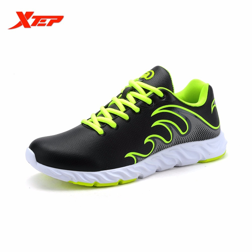 XTEP Brand Cheap Running For Men Athletic Damping Sports Air Mesh Breathable New Men's Shoes Sneakers xtep men running shoes 2016 sports shoes men s athletic sneakers air mesh cheap run shock resistance trainers shoes cushioning