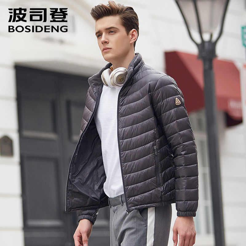 b520d4525f590 ... Bosideng 2017 новые мужские 90% пуховик пуховая куртка Ultra Light рано  зимнее пальто весенняя куртка ...