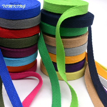 High quality clorsful 20mm chevron 100% cotton ribbon webbing herring bonebinding tape lace trimming for packing accessories DIY