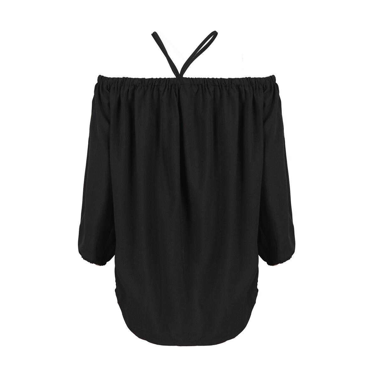 MCO 2017 Autumn Sexy Off Shoulder Plus Size Bardot Top Casual Oversized Halter Strap Shirt Basic Big Women Clothing 5xl 6xl 7xl 1