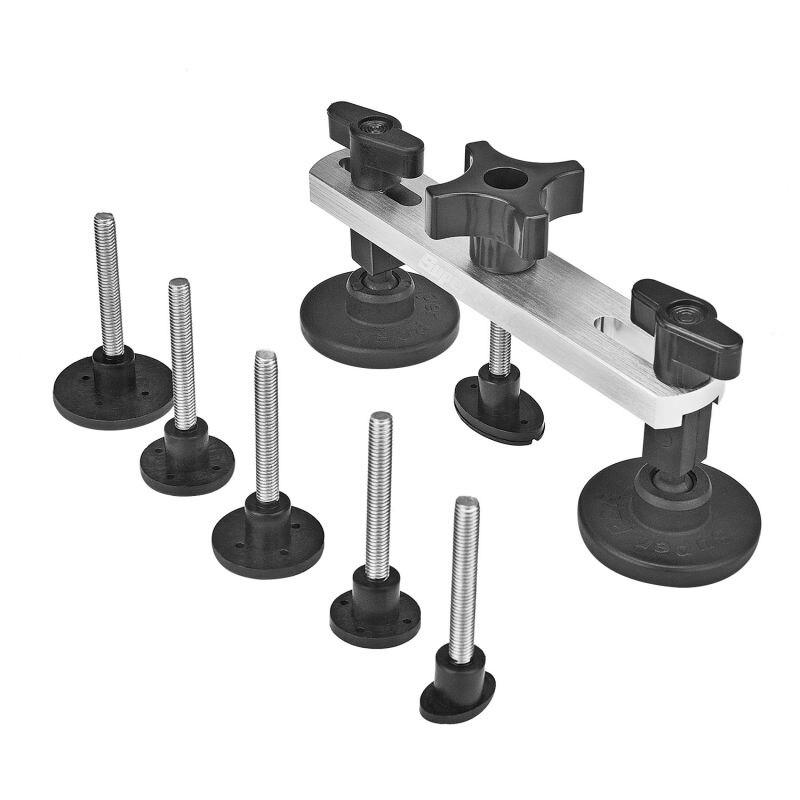 PDR Ausbeulen ohne Reparatur-werkzeuge Neu Design Ziehen Brücke Dent Removal Handwerkzeug Set PDR Toolkit Instrumente Ferramentas + GESCHENK