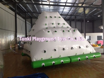 Inflatable water iceberg,most popular inflatable iceberg,inflatable iceberg water toy фото