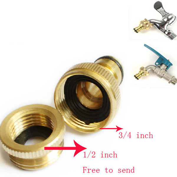 3/4 Inch Brass Threaded Garden Hose Water Gun Tap Fittings Pipe Quick  Connector On Aliexpress.com | Alibaba Group