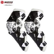 SCOYCO-rodilleras deportivas 2020 MBX para Moto de montaña, rcross, anticaída, a prueba de viento, para ciclismo de carreras