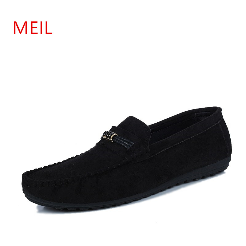 2018 Superstar Men Shoes Luxury Brand Loafers  Flats Shoes Men Chaussures Hommes En Cuir Casual Gommino Driving Shoes