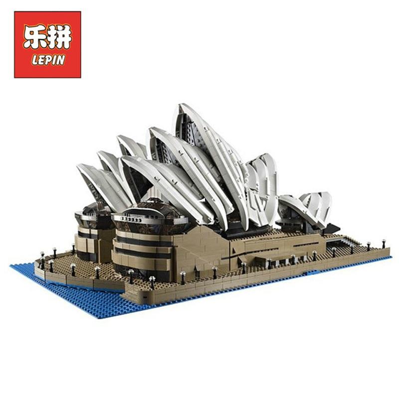 In Stock DHL Lepin Sets 17003 2989pcs City Street Figures Sydney Opera House Model Building Kits Blocks Bricks Kid Toy Gift10234 dhl in stock 2989pcs lepin 17003 sydney opera house model building kits blocks bricks toys 10222
