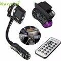New Arrival Car Kit Wireless Bluetooth FM Transmitter MP3 Player USB SD LCD Remote Handsfree AP8