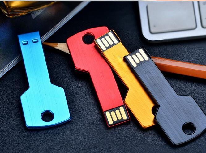 100% real capacity USB Flash Drive Free Shpping metal key chain memory card /pen/car drive 4G 8G 16GB usb flash driveS44