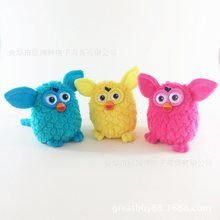 Battery Operated Interactive Phoebe Electric Firbi Pets Fuby Owl Elves Plush Recording Talking Smart Toys Gifts Furbiness boom 2(China)
