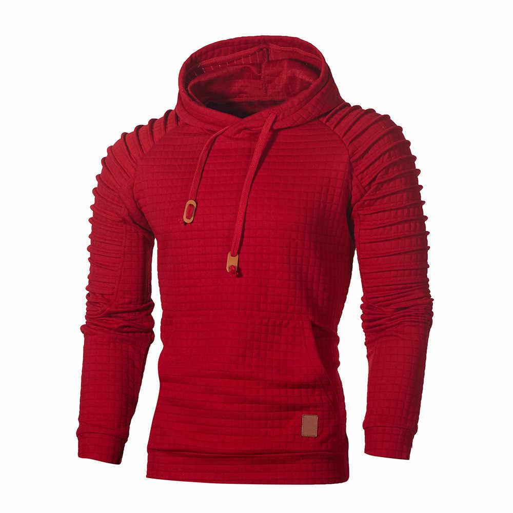 Männer Hoodie Mit Kapuze Pullover Sweatshirt Männer der Herbst Winter Langarm Mode sweatshirt Top Casual Outwear Bluse Sweatshirt HH