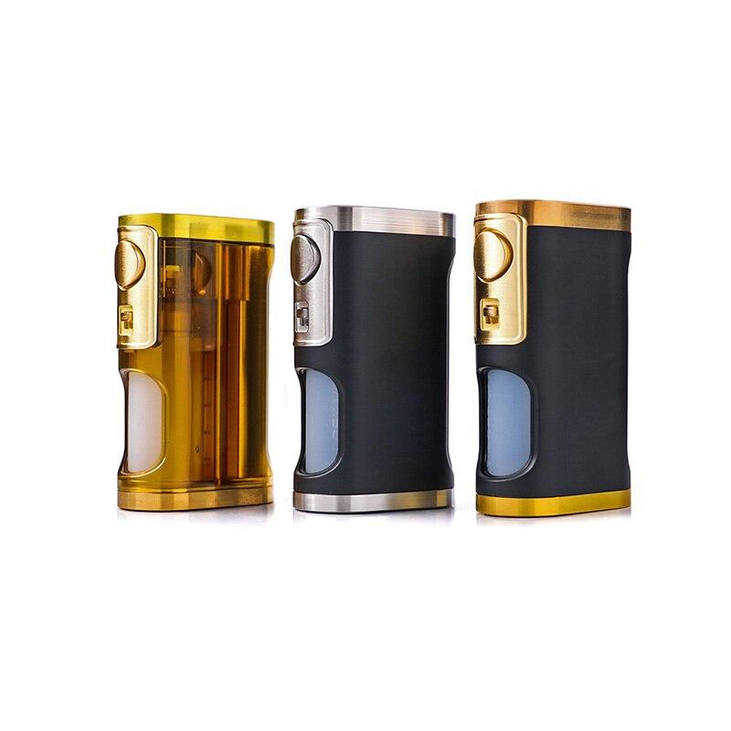 Perdue d'origine Vaporisateur Furyan Mech BF Squonker Boîte Mod 9 ml Alimenté Par Unique 18650 20700 21700 Batterie Vaporisateur mod
