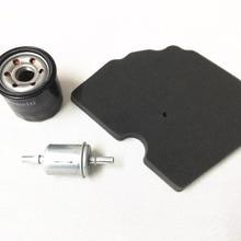 Масляный фильтр+ воздушный фильтр+ топливный фильтр/Комплект фильтров для Benelli TRK502 TRK502X/TRK 502 502X