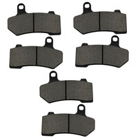 3 Pairs Motorcycle Brake Pad For HARLEY DAVIDSON V Rod 2005 2006 VRSCAW V Rod 2007