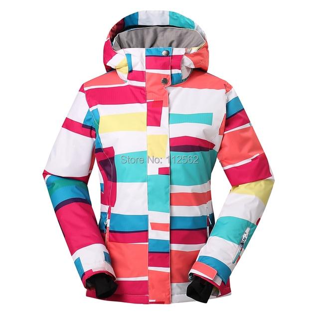 Gsou for snow ski jackets coat snowboard suit women skiing womens rHUzr