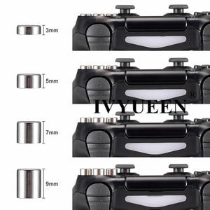 Image 5 - IVYUEEN المغناطيسي المعادن رصاصة أزرار نيتها إصدار قبضة 4 بلاي ستيشن 4 PS4 الموالية ضئيلة تحكم Thumbsticks القبضات D pad اكسسوارات