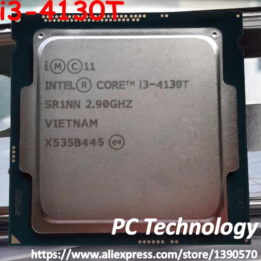 Original Intel core i3 4130T SR1NN CPU 2.90GHz 3M 35W 22nm LGA1150 i3 4130T Dual core Desktop
