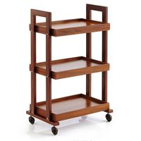 Beauty Car Trolley Three tiered with Drawer Hair Salon Beauty Salon Stroller Barber Shop Tool Cart