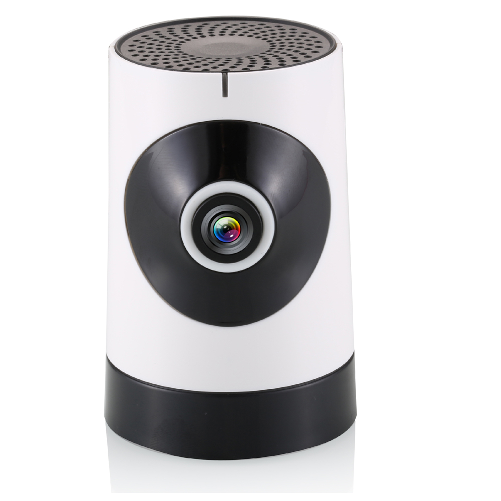 720P HD Panda Eyes WIFI Camera with 185 degree Wide Angel & P2P Penetration & 2-way Speaking for Home Security & Surveillance