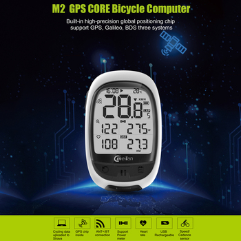 MEILAN M2 GPS Bike Computer Cadence Heart Rate Power Meter Cycling Navigation Computer