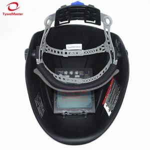 "Image 4 - Auto Darkening เชื่อมหมวกกันน็อกดูขนาด 98x88 มม.3.86x2.46 ""DIN 4 13 4 เซ็นเซอร์ EN379 หน้ากากเชื่อม"
