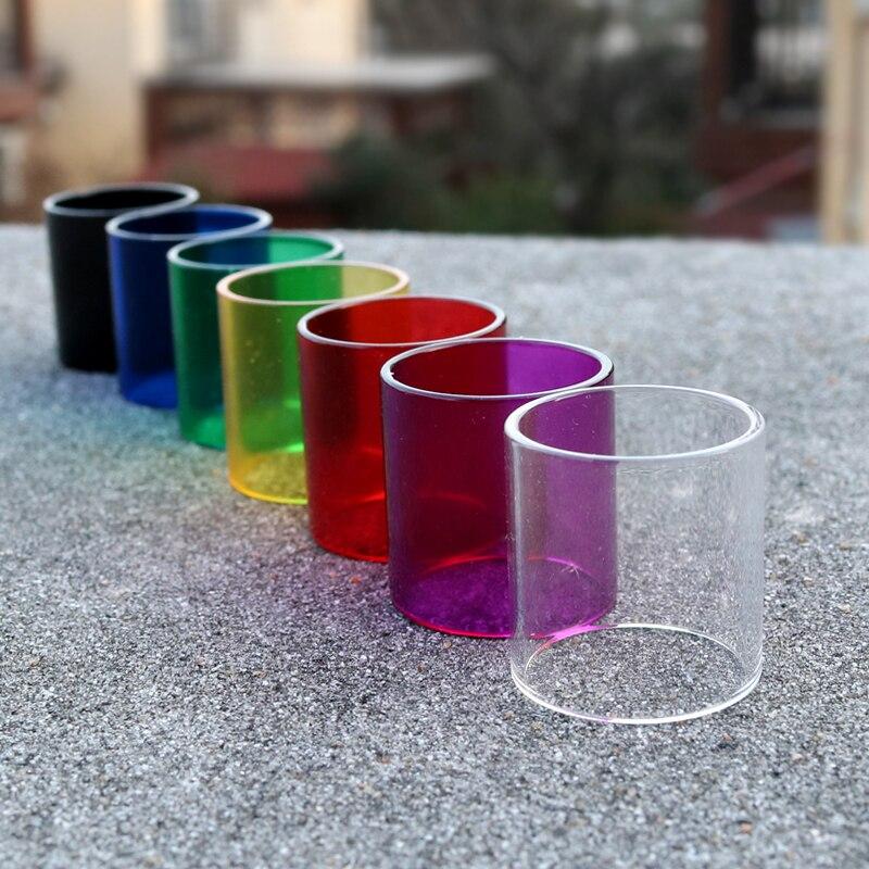 Remplacement verre réservoir pour SMOK TFV12 tfv 8 Atomiseur en verre pyrex tube pour SMOK TFV12 Réservoir Noir Clair Rouge Vert SMOK TFV8 réservoir