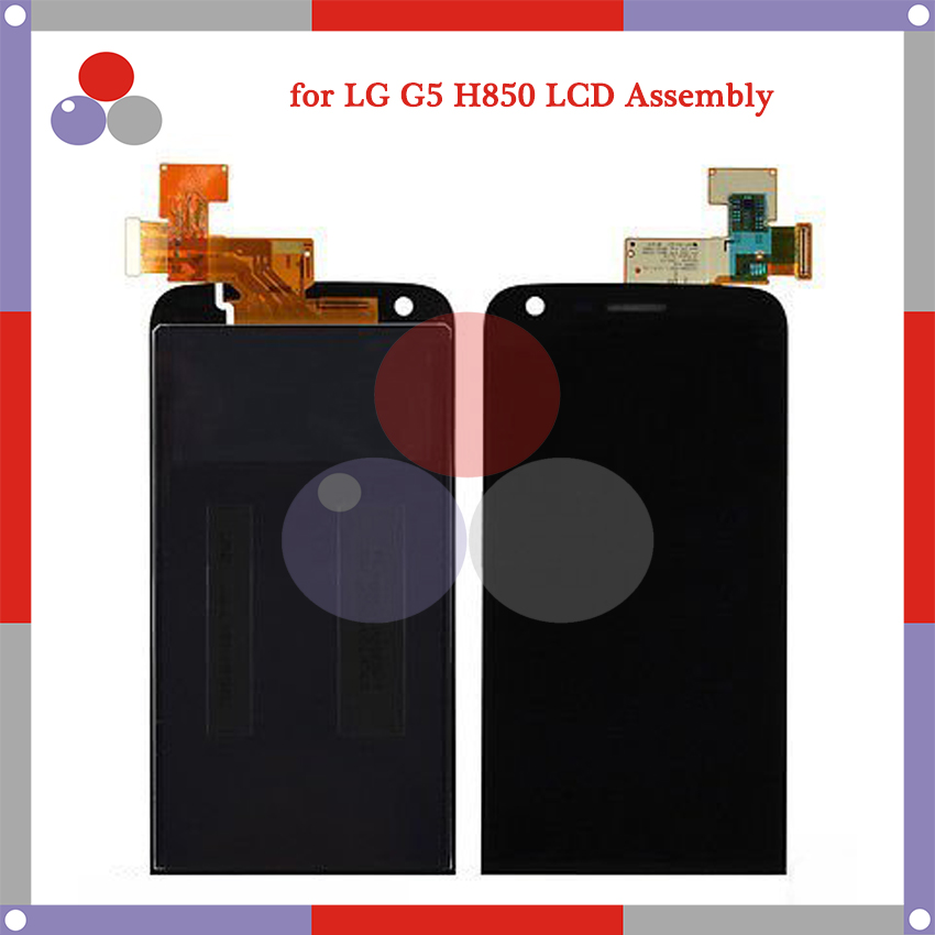 OEM 100% test 5.3 for LG G5 H850 VS987 H820 LS992 H830 H840 LCD Screen Display + Touch Screen Digitizer Assembly with frame