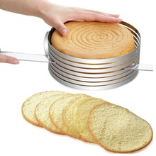 12inch Retractable Stainless Steel Mousse Ring Adjustable Cake Ring Circle Mold Kitchen Bakeware Baking Tool Set Cake Mold 15 20cm stainless steel adjustable cake cutter layered slicer baking tool kit set mould slicing mousse cake ring