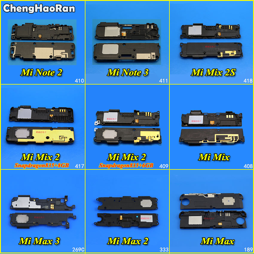 ChengHaoRan 1Piece Loudspeaker Speaker For Xiaomi Note 2 3 Mi Max 2 3 Mix 1 2 2s Loud Speaker Sound Buzzer Ringer Flex Cable