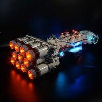 Kyglaring zestaw oświetlenia LED do lego 10019 Tantive IV Rebel jest Runner w Błyszczące oświetlenie od Lampy i oświetlenie na