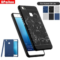 For Huawei P9 Lite Huawe G9 Lite VNS L21 VNS L22 VNS L23 Case 3D Carved