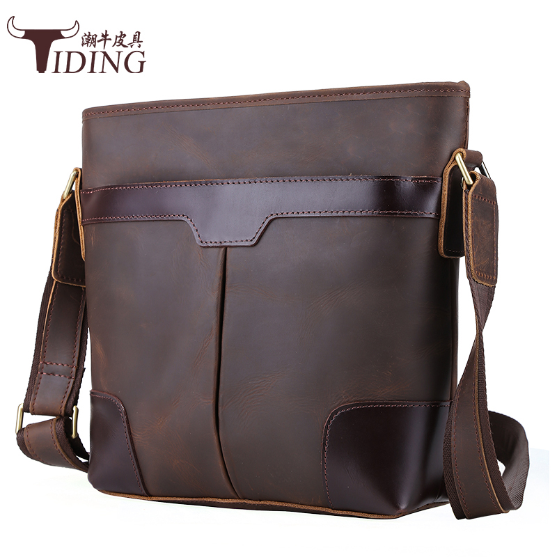 mens bags 2017 new fashion brand brown vintage casual business dress cow leather crossbody bags man shoulder bags real leathermens bags 2017 new fashion brand brown vintage casual business dress cow leather crossbody bags man shoulder bags real leather