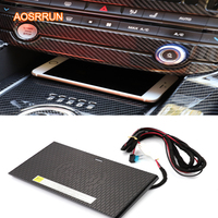 Car Mobile phone QI wireless charging Pad Module Car Accessories For Jaguar F PACE XE XF 2016 2017 2018 2019