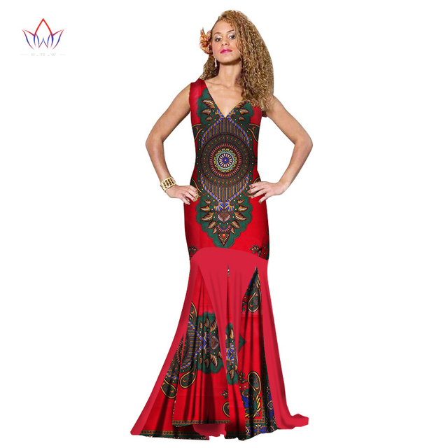 2019 african dresses for women new Design dashiki women long straight dress  dashiki plus size evening party dress 6xl 7xl WY1409 b77942c665eb