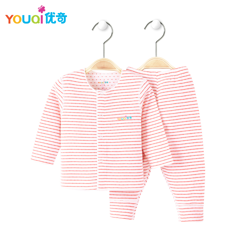 YOUQI Soft Cotton Unisex Baby Clothes Boys Baby Girls Clothing Set Toddler infant Long Sleeve Spring Autumn Winter Baby Pajamas cotton baby rompers set newborn clothes baby clothing boys girls cartoon jumpsuits long sleeve overalls coveralls autumn winter